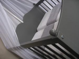 Louris tweelingwieg grijs