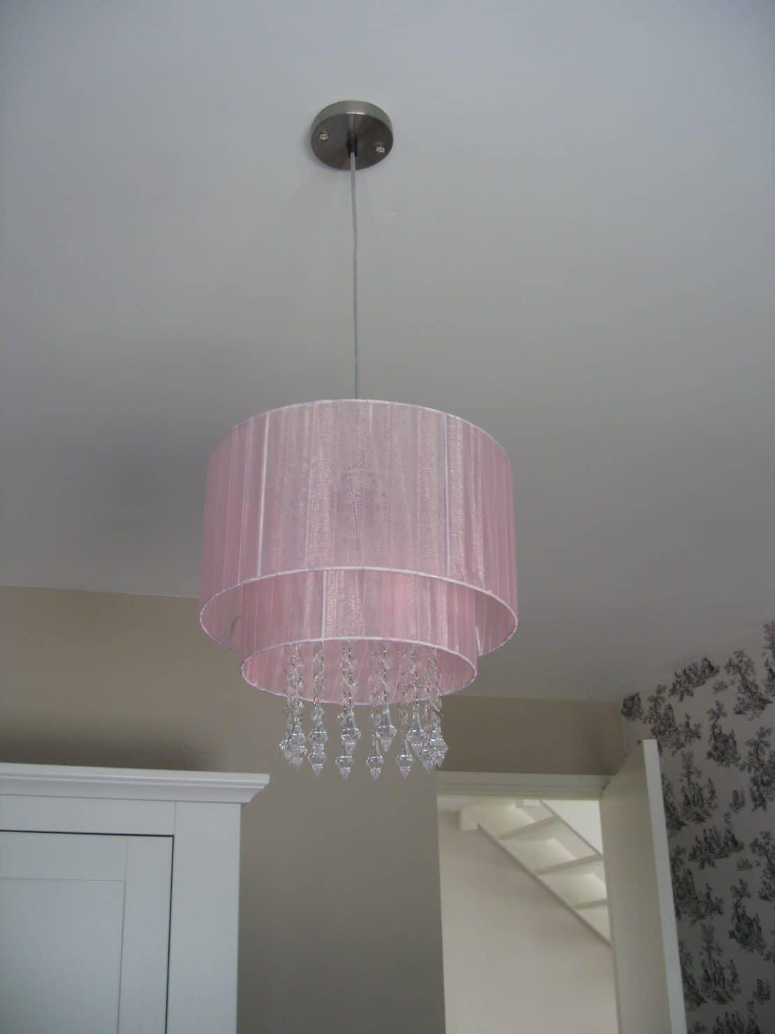 Hanglamp babyroze