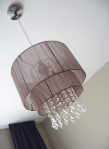 Louris hanglamp-taupe