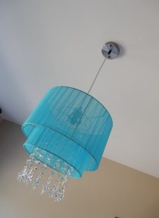 Louris hanglamp-turquoise