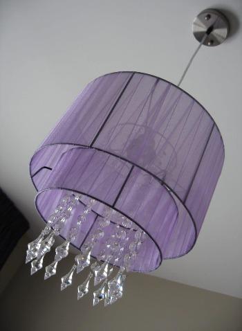 Louris hanglamp-lila